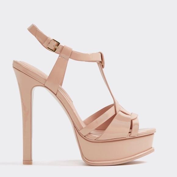 95900161eac Aldo Shoes - Aldo Chelly Light Pink Platform Sandal Size 7.5